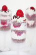 Push up Cake Pop mit Himbeeren