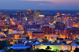 Downtown Birmingham Skyline - Fine Art prints