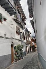 Casa  típica en Hervás, Cáceres, España