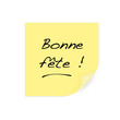 Bonne fête - post it