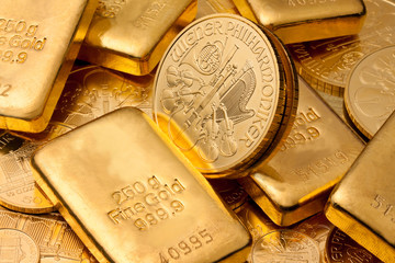 Geldanlage in echtem Gold