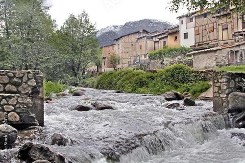 Río Ambroz,  Hervás, Cáceres, España