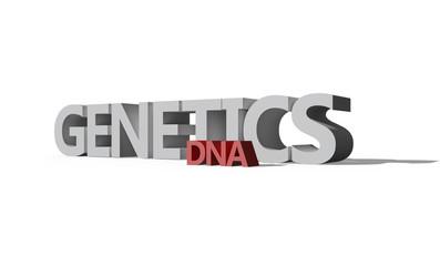 Genetics/DNA - 3D