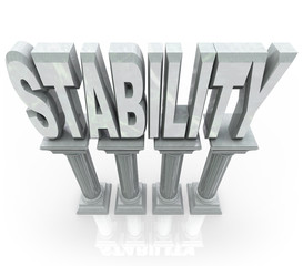 Stability Word on Columns Strong Dependable Support