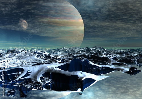 Fantasy Alien Planet © diversepixel