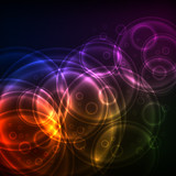 Shiny Circles, EPS10 Vector Background