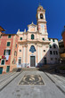 church in Sori, Liguria, Italy
