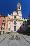 church in Sori, Liguria, Italy