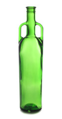 Alcohol green bottle