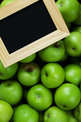 Green Apples and Blackboard