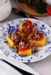 Polenta e arselle 玉米粥与蛤 Polenta mit Venusmuscheln