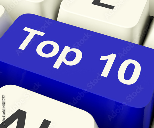 Top Ten Key Showing Best Rated In Charts