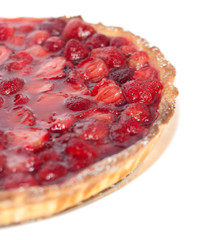 Part of the strawberry pie