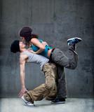 Fototapety Passion dance couple.