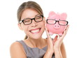 Glasses eyewear savings piggybank