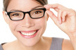 Eyewear glasses woman happy