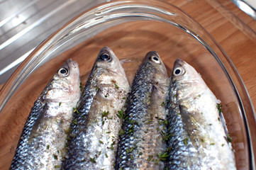 sea fish-fish cooked-sushi-meditterranean fish