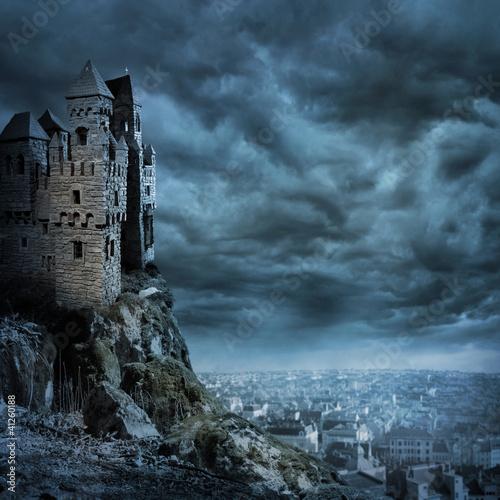Foto op Aluminium Kasteel Castle