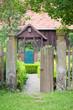 Eingang zu einem Bauerngarten