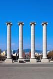 Columns at Placa de Espanya poster