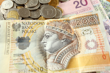 200 zlotys - Polish currency
