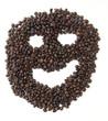 cafe grano cara rostro