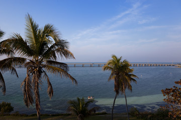 Highway to Key West at Bahia Honda National Park