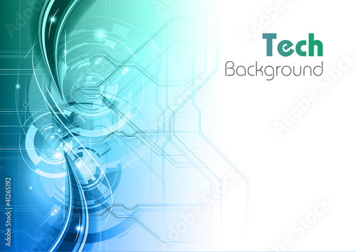 tech background