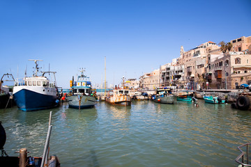 Jaffa old port. Tel Aviv, Israel