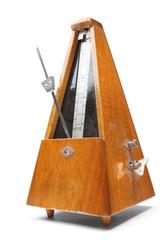 Vintage metronome music timer.