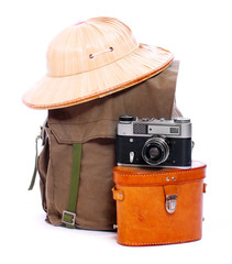 Vintage articles for travelers.