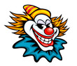 Fun circus clown