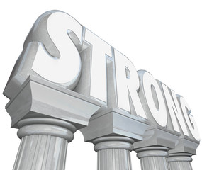 Strong Word on Marble Stone Columns Legendary Strength