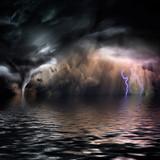 Fototapeta woda - ciemny - Inne