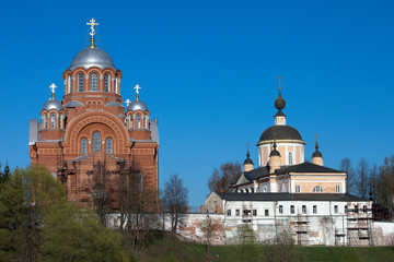 Christian cathedrals in Pokrovskiy Hot'kov nunnery