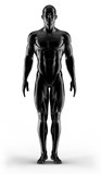 Fototapety 3d render portrait bodybuilder