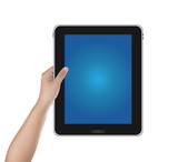 Hand hold digital tablet PC