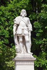 Statue von Niklas Graf Salm