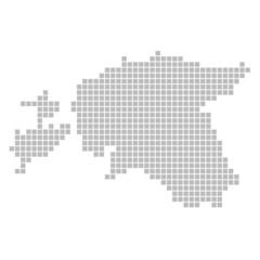Pixelkarte - Estland