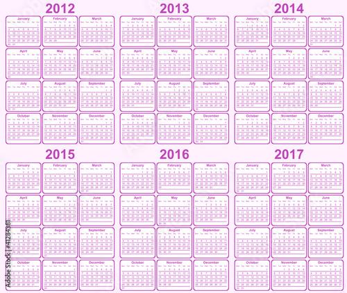 Все фото, векторы, клипарты и видео motorlka.  Вектор: Calendar 2012, 2013, 2014, 2015, 2016, 2017.