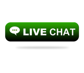 Live Chat Kundensupport Button