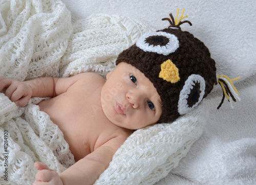 Newborn als Eule