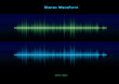 Stereo waveform