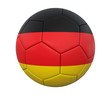 3D soccer ball Germany