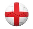 3D soccer ball england