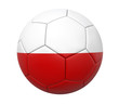 3D soccer ball poland