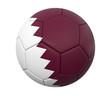 3D soccer ball Qatar
