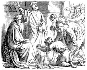 Saint Peter and Saint Paul in Mamertine Prison