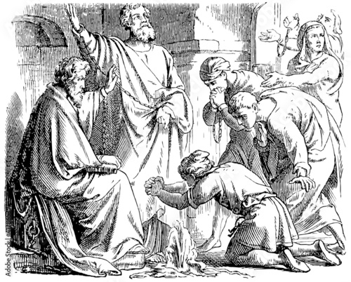 Saint Peter and Saint Paul in Mamertine Prison