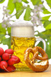 canvas print picture - Bier Bayern